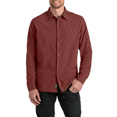 Kuhl Men's Bakbone Long-Sleeve Shirt - Rusted Sun