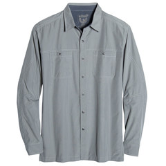 Kuhl Men's Bakbone Long-Sleeve Shirt - Metal Green