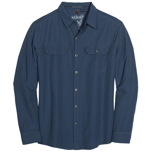 Kuhl Men's Sting Long Sleeve Shirt - Pirate Blue