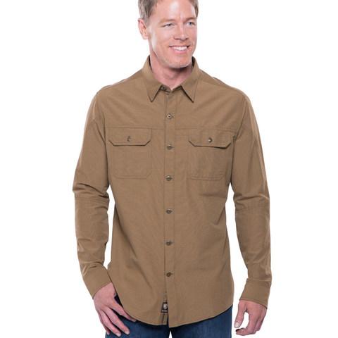 Kuhl Men's Sting Long Sleeve Shirt - Teak