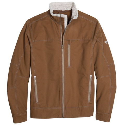 Kuhl Men's Lined Burr Jacket - Teak