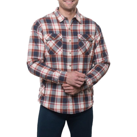 Kuhl Men's Outrydr Long Sleeved Shirt - Rusted Blue