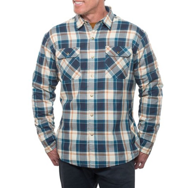 Kuhl Men's Outrydr Long Sleeved Shirt - Blue Copper