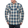 Kuhl Men's Outrydr Long Sleeved Shirt - Blue Copper