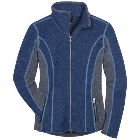 Kuhl Women's Kozet Full-Zip Jacket - Blue Depths