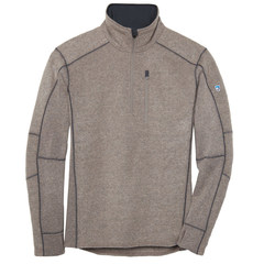 Kuhl Men's Interceptr Quarter Zip Fleece - Oatmeal