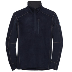 Kuhl Men's Interceptr Quarter Zip Fleece- Mutiny Blue