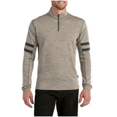 Kuhl Men's Team Quarter Zip Sweater - Oatmeal