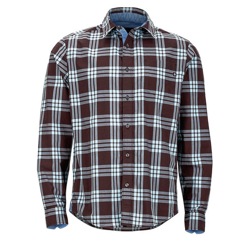 Marmot Cobblestone Long Sleeve Shirt  - Espresso