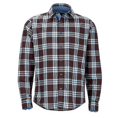 Marmot Cobblestone Long Sleeve Shirt  - Espresso