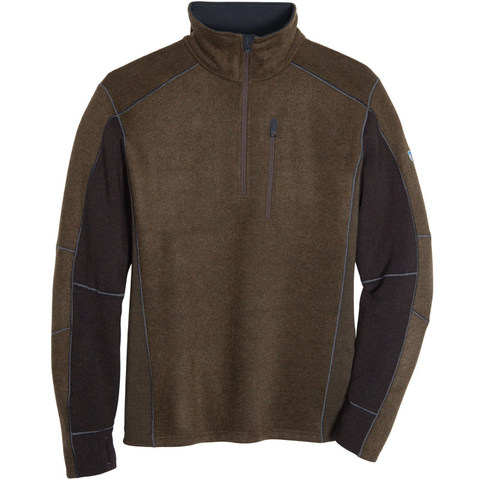 Kuhl Men's Interceptr Quarter Zip Fleece - Olive