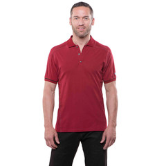 Kuhl Edge Short Sleeve Polo - Rio Red
