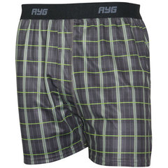 AYG Men's Performance Boxer-Plaid