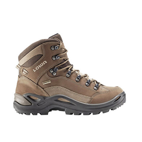 Lowa Women's Renegade GTX Mid Hiking Boot-Taupe/Sepia