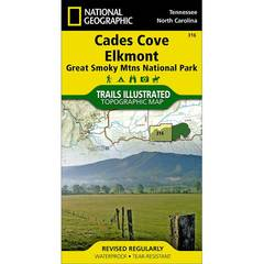 National Geographic Cades Cove/Elkmont Trails Illustrated Map