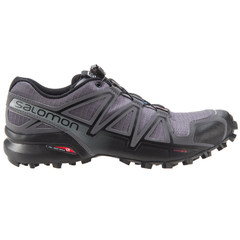 Salomon Men's Speedcross 4 Trail Running Shoes - Dark Cloud/Black/Pearl Grey