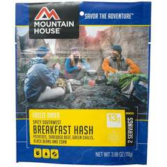 Mountain House Spicy Southwest Breakfast Hash Dehydrated Meal