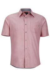 Marmot Men's Dorset SS Shirt - Retro Red