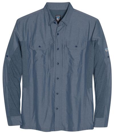 Kuhl Men's Airspeed LS Shirt - Pirate Blue