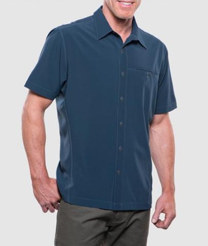 Kuhl Men's Renegade Short Sleeve Shirt - Pirate Blue
