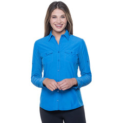 Kuhl Women's Glydr LS Top - Atlantis