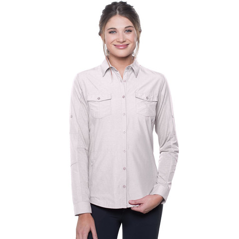 Kuhl Women's Glydr LS Top - White
