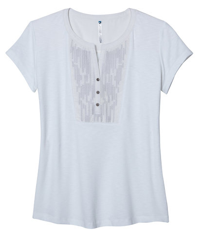 Kuhl Women's Deja SS Shirt - White
