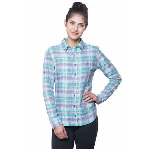 Kuhl Women's Asta Long Sleeve Shirt - Belize