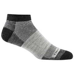 Darn Tough Tactical PT Socks No-Show Mesh Graphite
