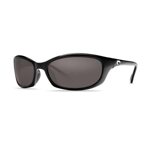 Costa Harpoon Black 580P Sunglasses - Polarized Gray