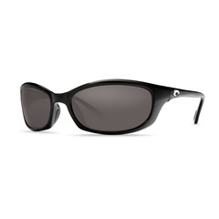 Costa Harpoon Black 580P Sunglasses - Polarized Gray