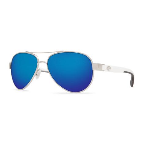 Costa Loreto Palladium 580P Sunglasses -  Polarized Blue Mirror