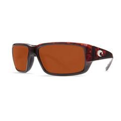 Costa Fantail Tortoise 580P  Sunglasses - Polarized Copper