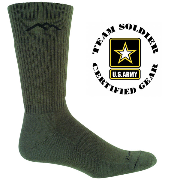 Darn Tough 14021 Tactical Boot Socks-Foliage