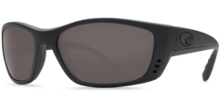 Costa Fisch Blackout 580P Sunglasses - Polarized Gray
