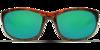 Costa Howler Tortoise 580P Sunglasses - Polarized Green Mirror