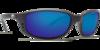 Costa Brine Black 580G Glass  Sunglasses - Polarized Blue Mirror