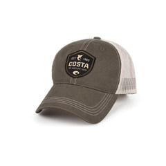 Costa Shield Trucker Hat - Moss