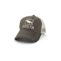Costa Trout XL Trucker Hat - Moss