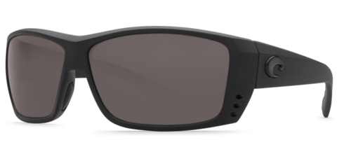 Costa Cat Cay Blackout 580P Sunglasses - Polarized Gray