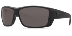 Costa Cat Cay Blackout 580P Sunglasses - Polarized Gray