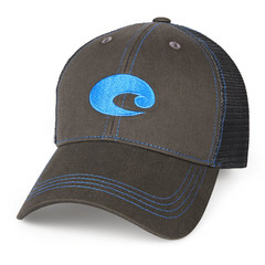 Costa Neon Trucker Hat - Graphite