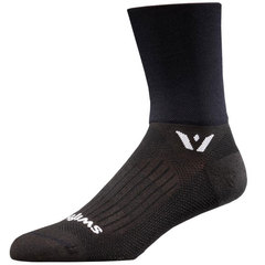 Swiftwick Aspire Four Socks-Black