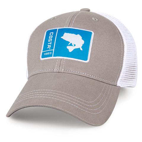 Costa Original Patch Bass Hat - Gray
