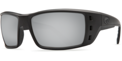 Costa Permit Blackout 580P Sunglasses - Polarized Silver