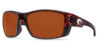 Costa Cortez Tortoise 580P Sunglasses - Polarized Copper
