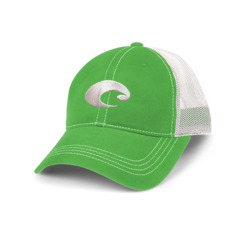 Costa Mesh Hat - Green