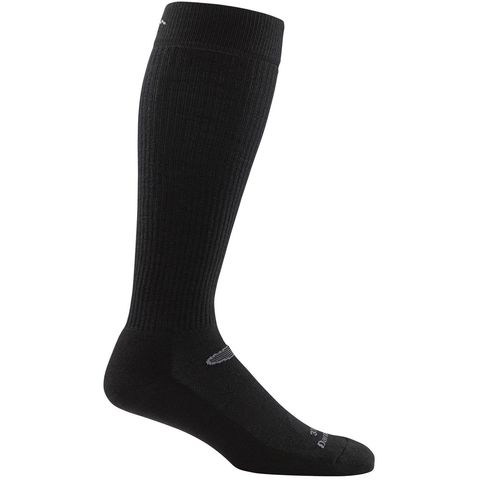 Darn Tough 33006 Over-the-Calf Light Cushion Plus Boot Socks - Black