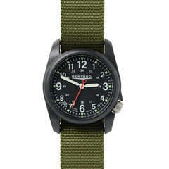 Bertucci 11016 DX3 Field Watch - Black / Green Nylon