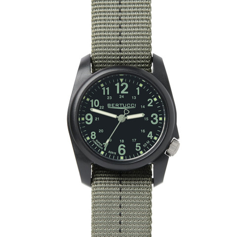 Bertucci 11049 DX3 Field Performance Watch -Stone - Defender Olive Band Copy
